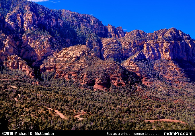 Munds Mountain (Munds Mountain Picture 091 - September 20, 2010 from Sedona, Arizona)