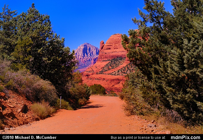 Schnebly Hill Road (Schnebly Hill Road Picture 116 - September 20, 2010 from Sedona, Arizona)