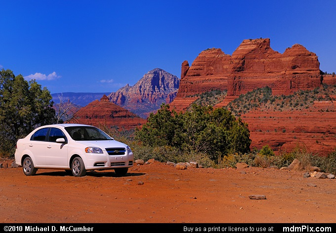 Schnebly Hill Road (Schnebly Hill Road Picture 117 - September 20, 2010 from Sedona, Arizona)