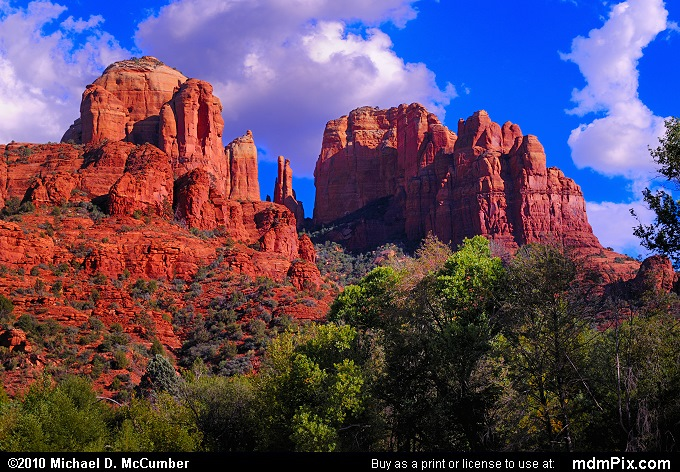 Cathedral Rock (Cathedral Rock Picture 097 - September 21, 2010 from Sedona, Arizona)