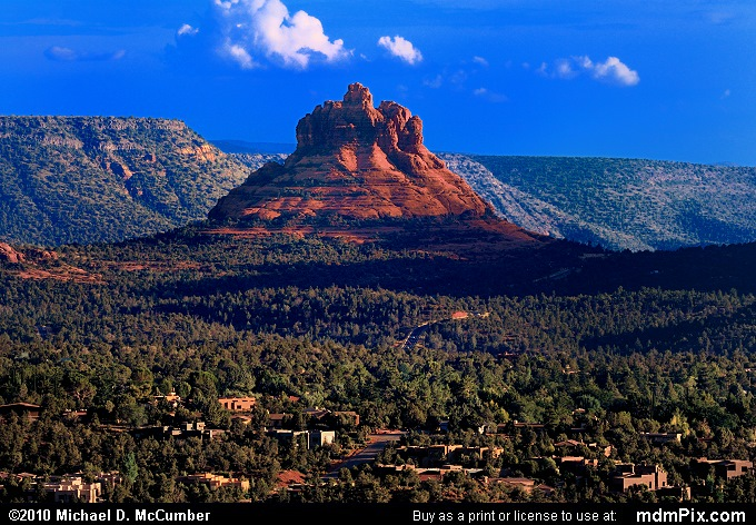 Bell Rock (Bell Rock Picture 113 - September 21, 2010 from Sedona, Arizona)