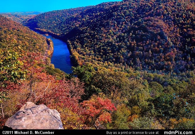 Casparis Lookout Point (Casparis Lookout Point Picture 031 - October 13, 2010 from PA State Game Land 51)