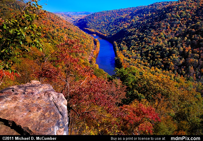 Casparis Lookout Point (Casparis Lookout Point Picture 039 - October 13, 2010 from PA State Game Land 51)