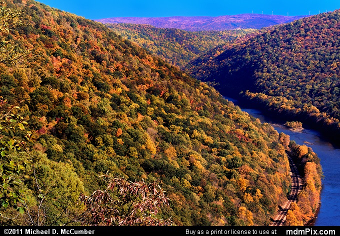 Youghiogheny Gorge (Youghiogheny Gorge Picture 051 - October 13, 2010 from PA State Game Land 51)