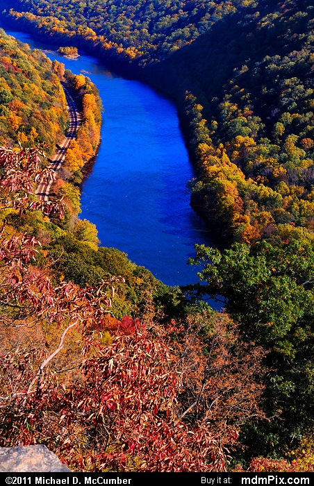 Casparis Lookout Point (Casparis Lookout Point Picture 054 - October 13, 2010 from PA State Game Land 51)