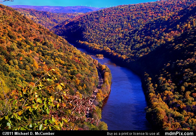 Youghiogheny Gorge (Youghiogheny Gorge Picture 055 - October 13, 2010 from PA State Game Land 51)