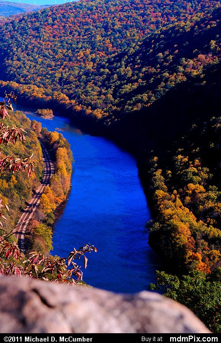 Youghiogheny River (Youghiogheny River Picture 068 - October 13, 2010 from PA State Game Land 51)