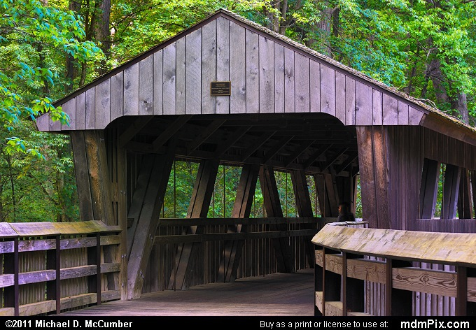 Wildwood Covered Bridge (Wildwood Covered Bridge Picture 030 - May 28, 2011 from Wildwood Preserve Metropark, Ohio)