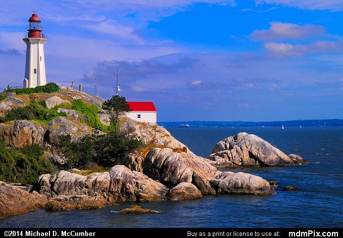 English Bay Surrounds Point Atkinson Lighthouse