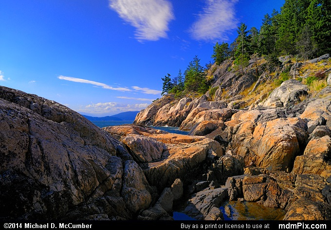 Granite Shoreline of British Columbia