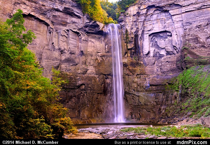 Taughannock Falls (Taughannock Falls Picture 001 - September 25, 2014 from Taughannock Falls State Park, New York)