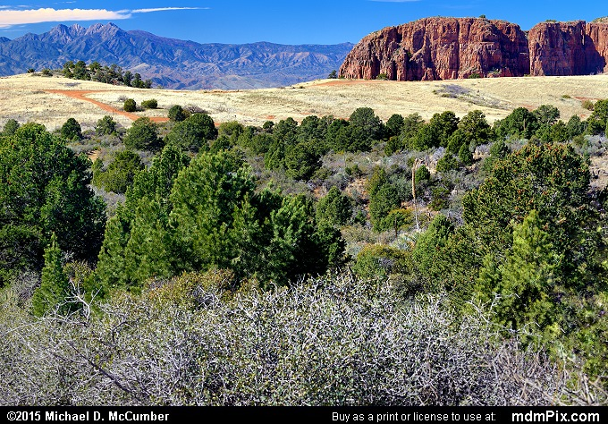Parker Canyon (Parker Canyon Picture 009 - February 12, 2015 from Sierra Ancha Experimental Forest, Arizona)