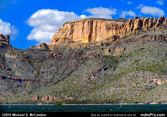 Goat Mountain (Goat Mountain Picture 044 - February 16, 2015 from Superstition Wilderness (Arizona))