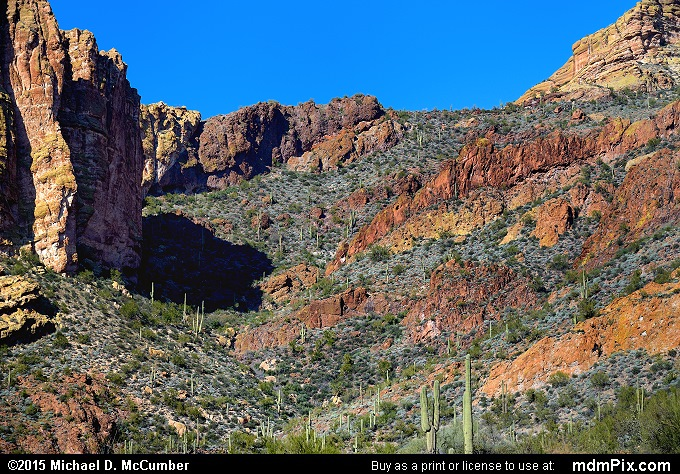 Fish Creek Canyon (Fish Creek Canyon Picture 054 - February 16, 2015 from Superstition Wilderness (Arizona))