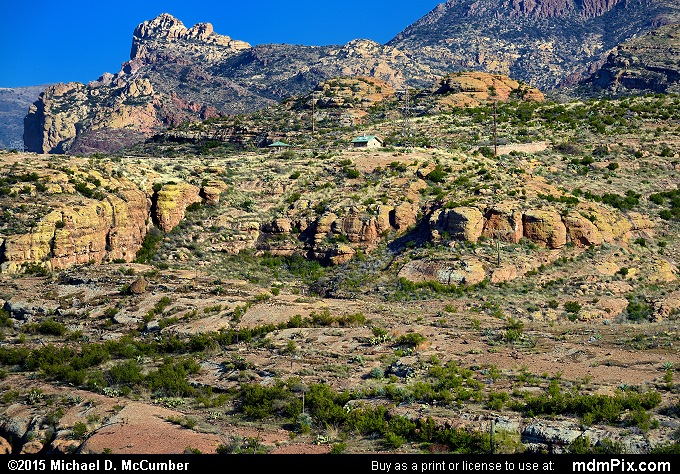 Fish Creek Hill (Fish Creek Hill Picture 064 - February 16, 2015 from Superstition Wilderness (Arizona))