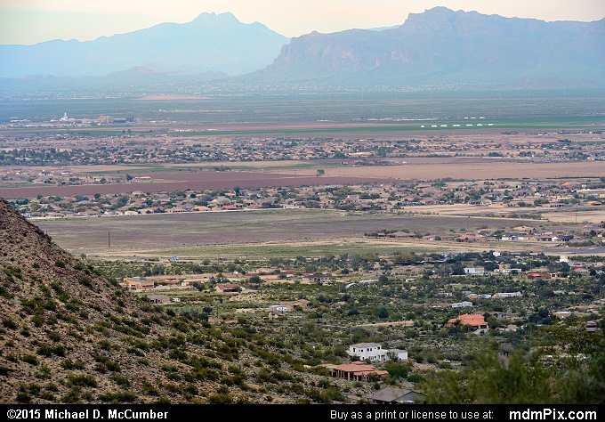 Valley of the Sun (Valley of the Sun Picture 012 - February 21, 2015 from San Tan Mountain Regional Park, Arizona)