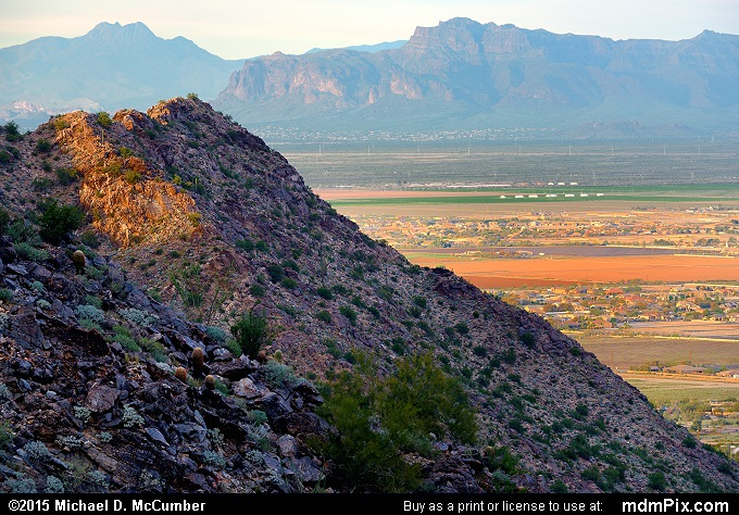 Valley of the Sun (Valley of the Sun Picture 023 - February 21, 2015 from San Tan Mountain Regional Park, Arizona)