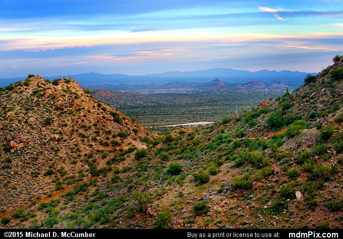 San Tan Mountains (San Tan Mountains Picture 031 - February 21, 2015 from San Tan Mountain Regional Park, Arizona)