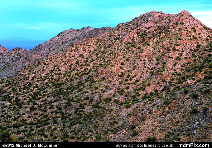 San Tan Mountains (San Tan Mountains Picture 034 - February 21, 2015 from San Tan Mountain Regional Park, Arizona)