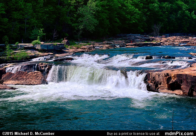 Ohiopyle Falls (Ohiopyle Falls Picture 001 - May 14, 2015 from Ohiopyle State Park, Pennsylvania)