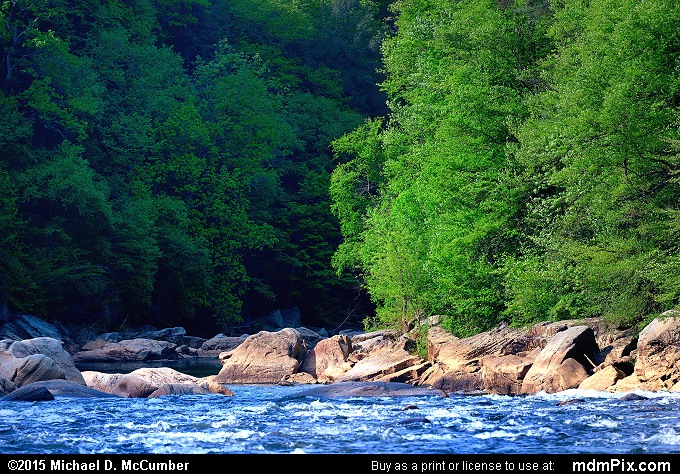 Youghiogheny River (Youghiogheny River Picture 014 - May 14, 2015 from Ohiopyle State Park, Pennsylvania)