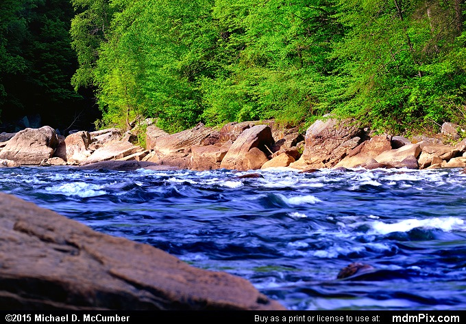 Youghiogheny River (Youghiogheny River Picture 022 - May 14, 2015 from Ohiopyle State Park, Pennsylvania)