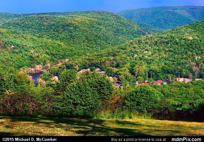 Tharp Knob Overlook (Tharp Knob Overlook Picture 027 - May 14, 2015 from Ohiopyle State Park, Pennsylvania)