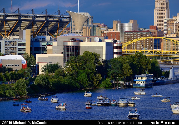 Carnegie Science Center (Carnegie Science Center Picture 009 - August 1, 2015 from Pittsburgh, Pennsylvania)