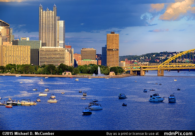 Three Rivers Point Fountain (Three Rivers Point Fountain Picture 015 - August 1, 2015 from Pittsburgh, Pennsylvania)