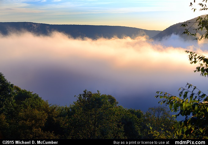 Baughman Rock Overlook (Baughman Rock Overlook Picture 005 - September 19, 2015 from Ohiopyle State Park, Pennsylvania)