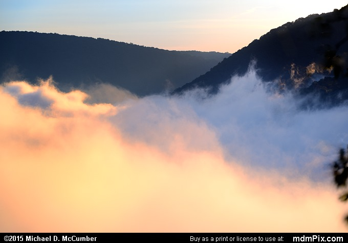 Fog (Fog Picture 006 - September 19, 2015 from Ohiopyle State Park, Pennsylvania)