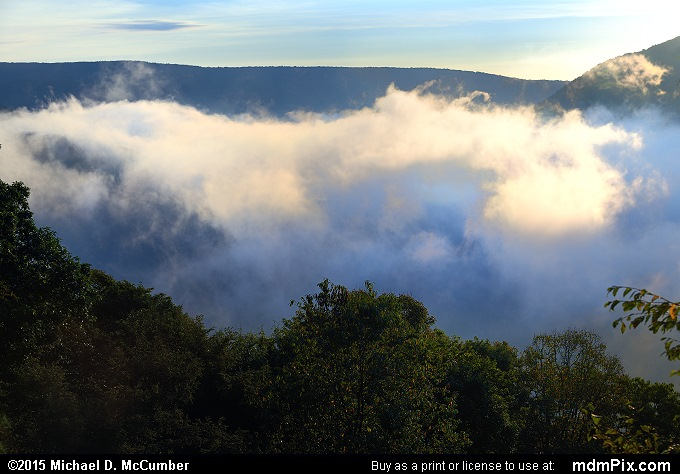 Baughman Rock Overlook (Baughman Rock Overlook Picture 011 - September 19, 2015 from Ohiopyle State Park, Pennsylvania)