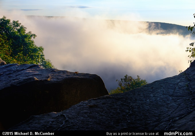 Baughman Rock Overlook (Baughman Rock Overlook Picture 012 - September 19, 2015 from Ohiopyle State Park, Pennsylvania)