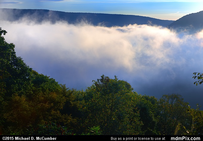 Baughman Rock Overlook (Baughman Rock Overlook Picture 013 - September 19, 2015 from Ohiopyle State Park, Pennsylvania)
