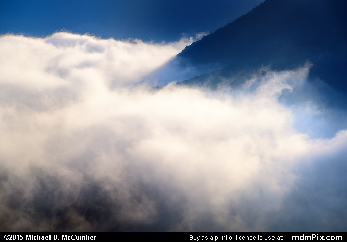 Fog (Fog Picture 019 - September 19, 2015 from Ohiopyle State Park, Pennsylvania)