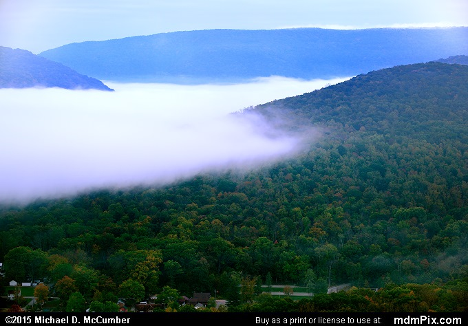 Laurel Ridge (Laurel Ridge Picture 001 - October 8, 2015 from Ohiopyle State Park, Pennsylvania)