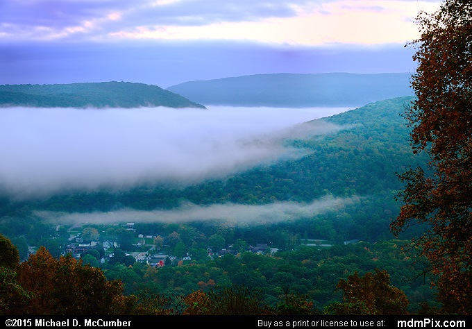 Tharp Knob Overlook (Tharp Knob Overlook Picture 008 - October 8, 2015 from Ohiopyle State Park, Pennsylvania)