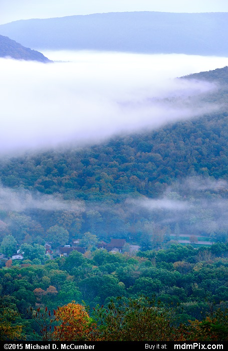 Tharp Knob Overlook (Tharp Knob Overlook Picture 013 - October 8, 2015 from Ohiopyle State Park, Pennsylvania)