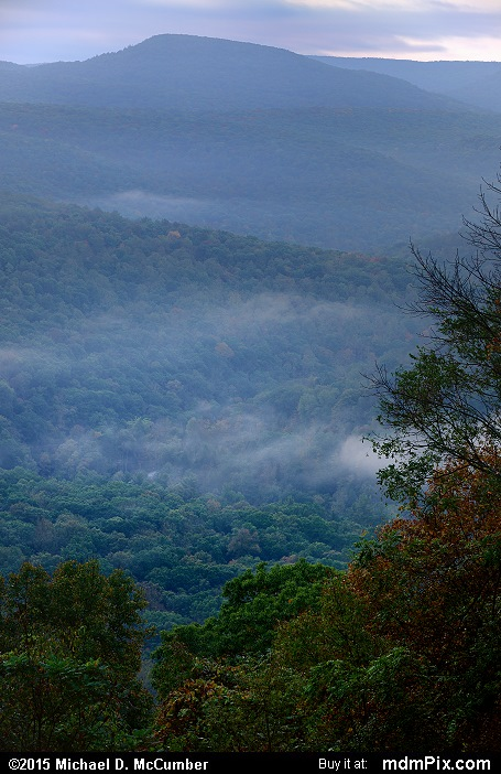 Sugarloaf Knob (Sugarloaf Knob Picture 014 - October 8, 2015 from Ohiopyle State Park, Pennsylvania)