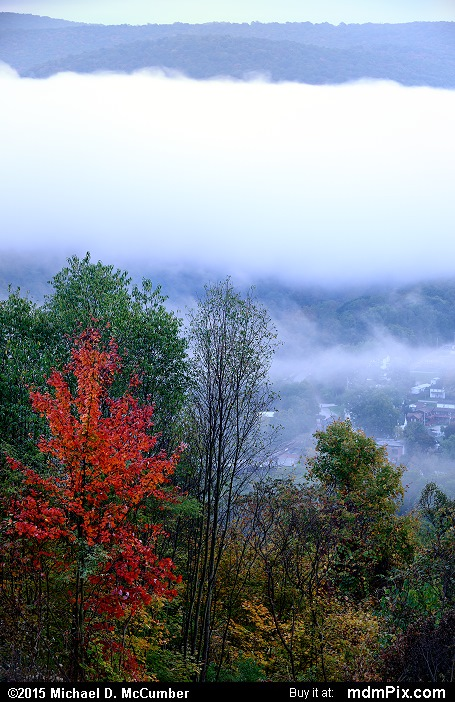 Fog (Fog Picture 015 - October 8, 2015 from Ohiopyle State Park, Pennsylvania)