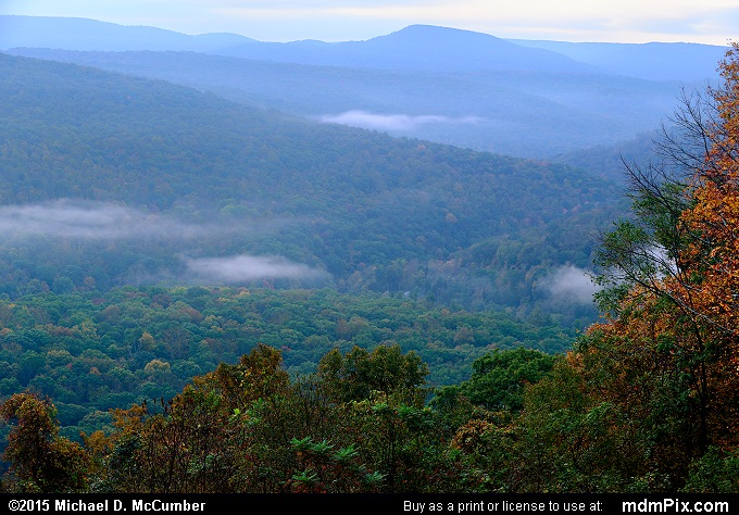 Sugarloaf Knob (Sugarloaf Knob Picture 017 - October 8, 2015 from Ohiopyle State Park, Pennsylvania)