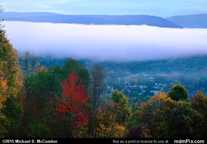Fog (Fog Picture 018 - October 8, 2015 from Ohiopyle State Park, Pennsylvania)
