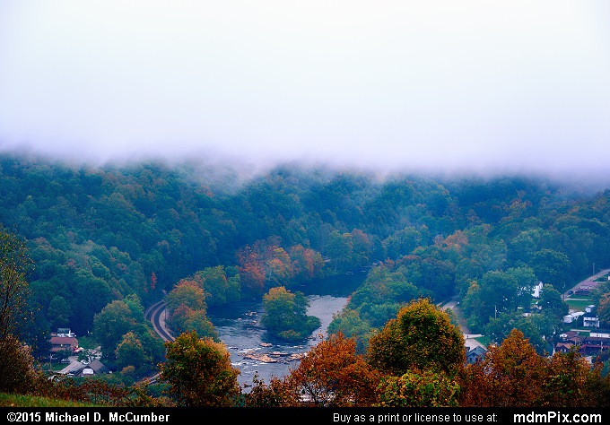 Youghiogheny River (Youghiogheny River Picture 025 - October 8, 2015 from Ohiopyle State Park, Pennsylvania)