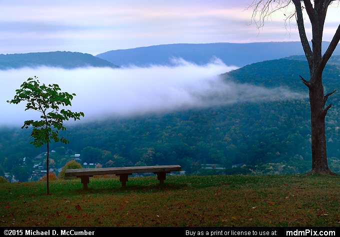 Tharp Knob (Tharp Knob Picture 027 - October 8, 2015 from Ohiopyle State Park, Pennsylvania)