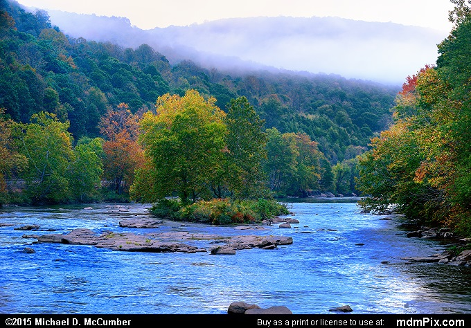 Youghiogheny River (Youghiogheny River Picture 029 - October 8, 2015 from Ohiopyle State Park, Pennsylvania)