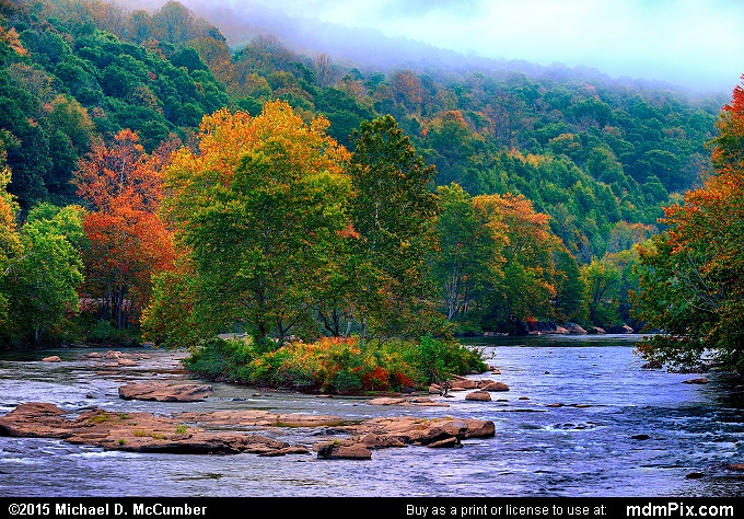 Youghiogheny River (Youghiogheny River Picture 030 - October 8, 2015 from Ohiopyle State Park, Pennsylvania)