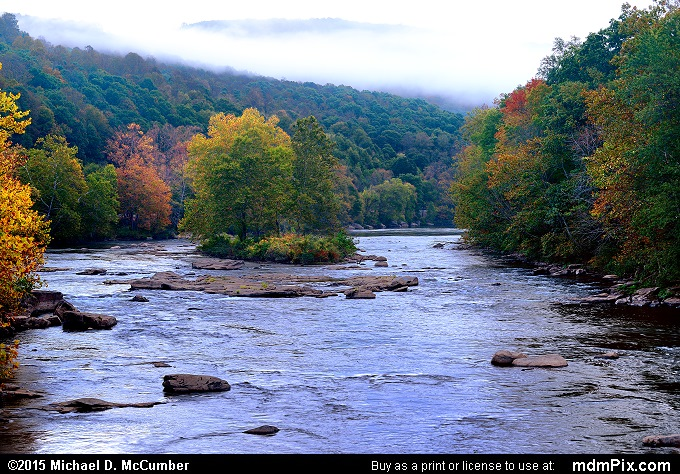 Youghiogheny River (Youghiogheny River Picture 032 - October 8, 2015 from Ohiopyle State Park, Pennsylvania)