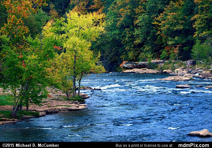 Youghiogheny River (Youghiogheny River Picture 035 - October 8, 2015 from Ohiopyle State Park, Pennsylvania)