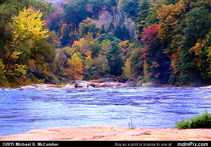 Youghiogheny River (Youghiogheny River Picture 036 - October 8, 2015 from Ohiopyle State Park, Pennsylvania)