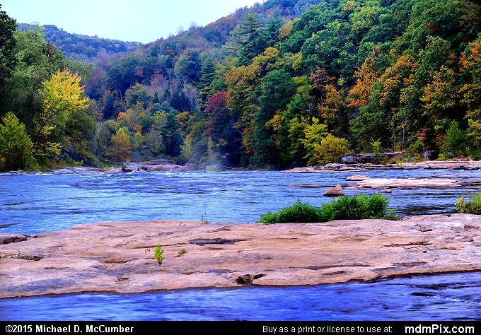 Youghiogheny River (Youghiogheny River Picture 037 - October 8, 2015 from Ohiopyle State Park, Pennsylvania)